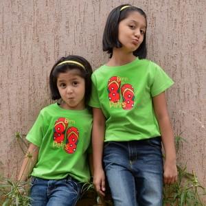 BonOrganik Siblngs Similar Clothing T-Shirt