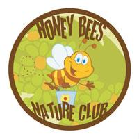 Honey Bees Nature Club Logo