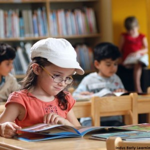 Indus Early Learning Centre-Whitefield-Library