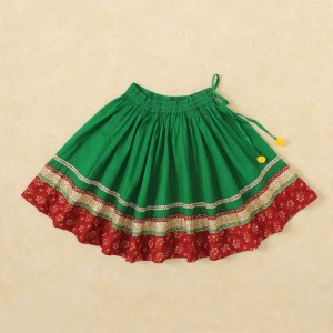 Little Pockets Store Colourful Ghagra