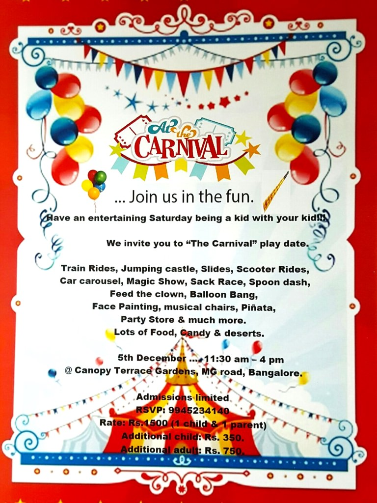 The Carnival Cover Image
