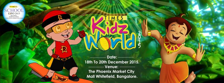 Times Kidz World School Expo Cover Image