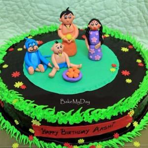 BakeMyDay-Chota-Bheem-Themed-Birthday-Cake