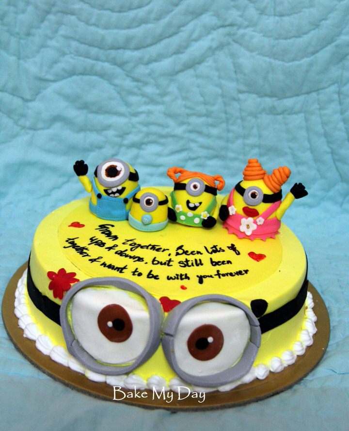 Minion Birthday Cake Kits