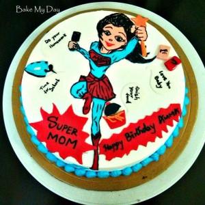 BakeMyDay-Super-Mom-Birthday-Cake