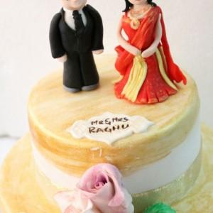 Cake My Heart Wedding Cake