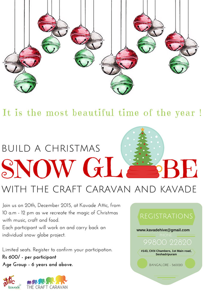 Build a Christmas Snow Globe Cover Image