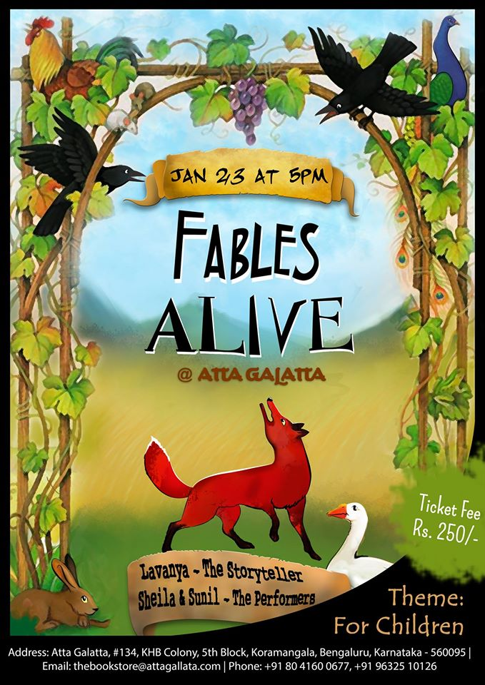 Fables Alive Cover Image