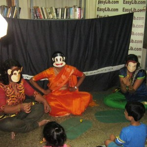 Easy Library Storytelling Session