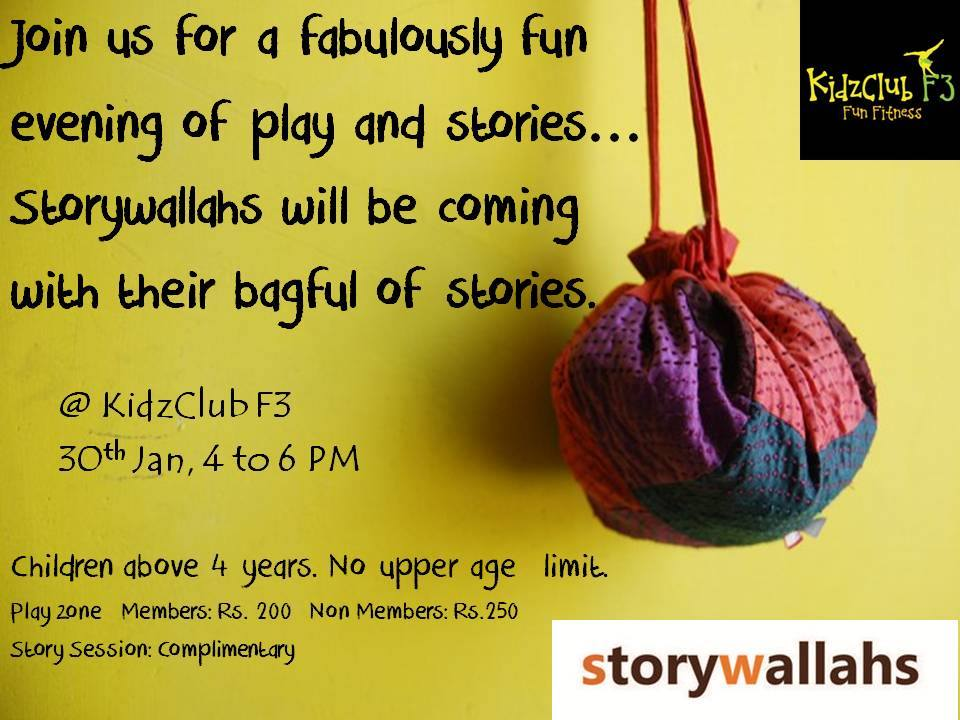 Fun Evening of Play and Stories Cover Image