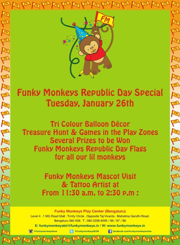 Funky Monkey's Republic Day Special Cover Image