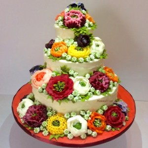 Mummalicious Flower Cake