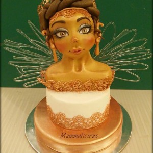 Mummalicious Lady Sculptured Cake