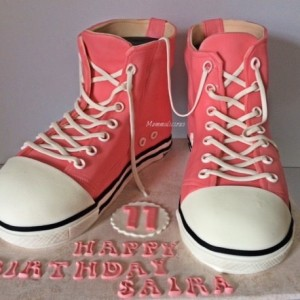 Mummalicious Shoe Cake for Girls