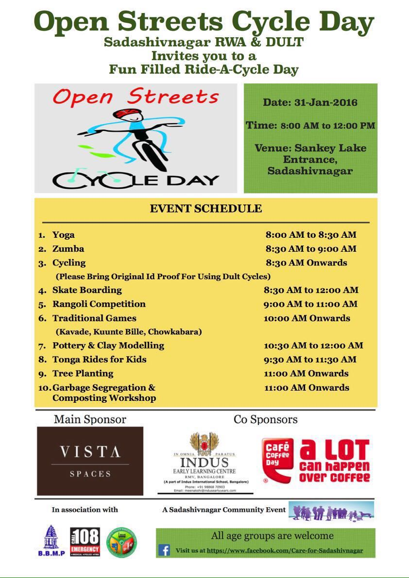 Open Streets Cycle Day Cover Image