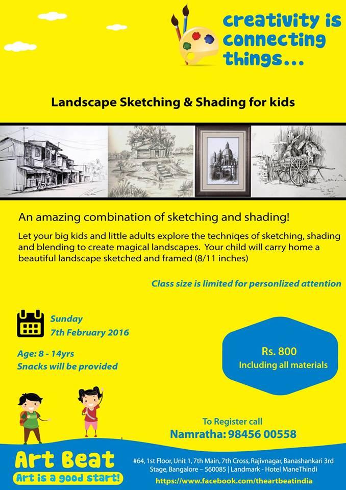 Sketching & Shading Workshop Cover Image