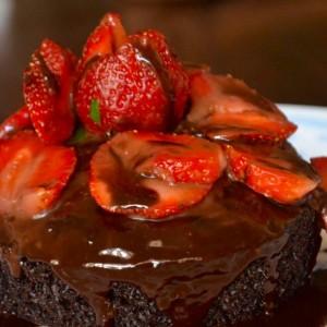 Sweet Tooth Chocolate Strawberry Cake