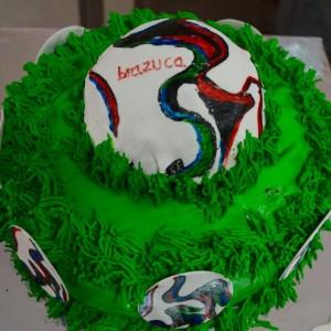 Sweet Tooth Football Theme Cake