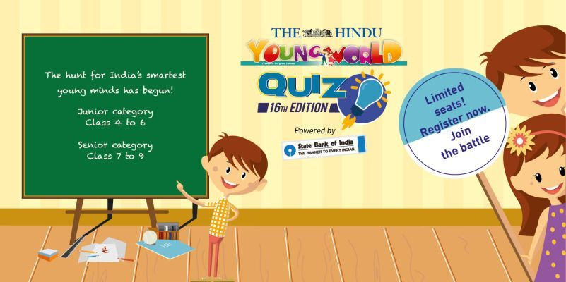 Young World Quiz Competition Cover Image