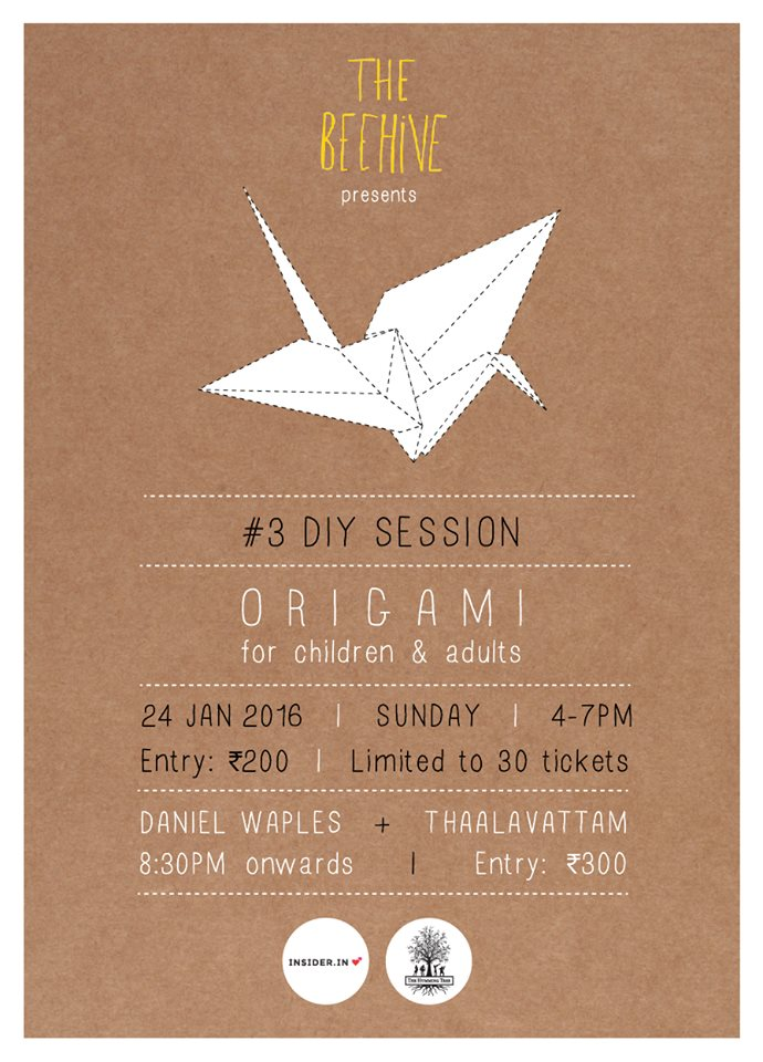 Origami Workshop for Kids and Adults Cover Image