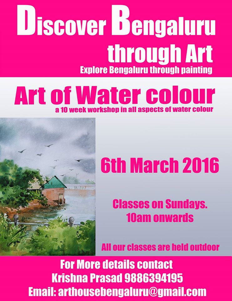 Art Of Water Colour Cover Image