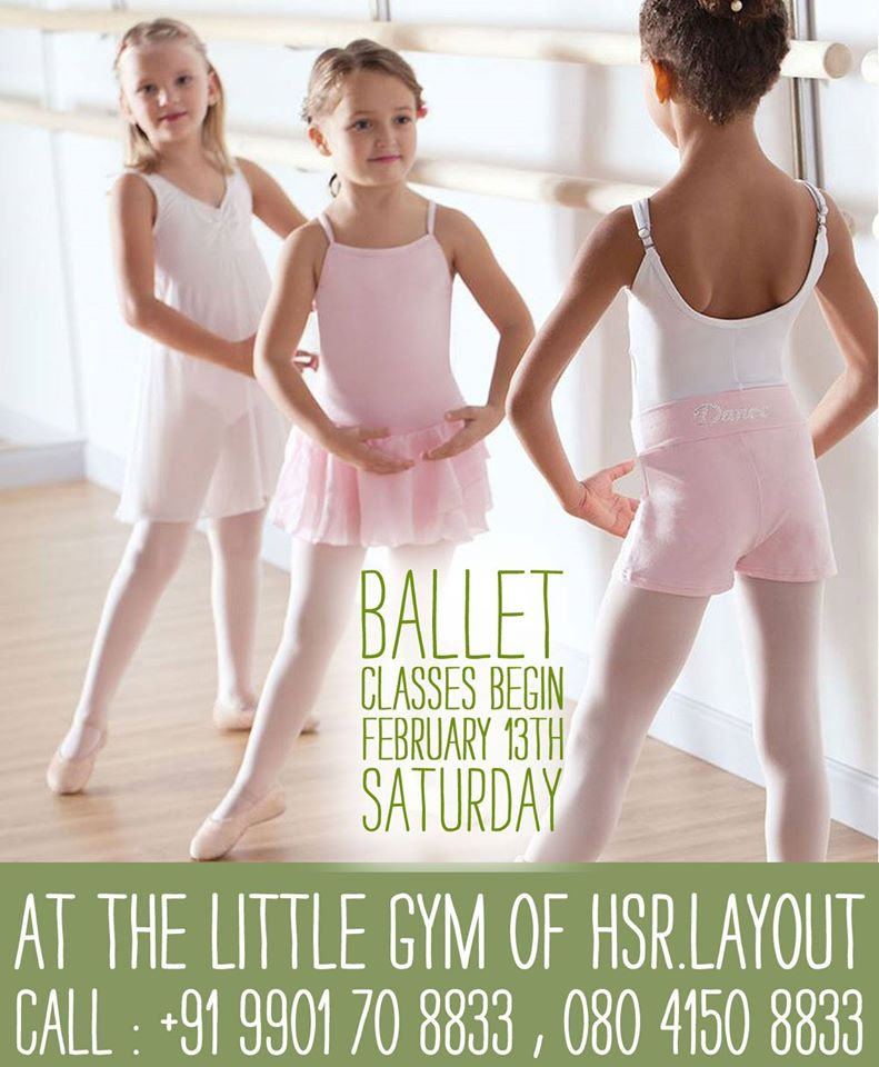 Ballet Class at The Little Gym Cover Image