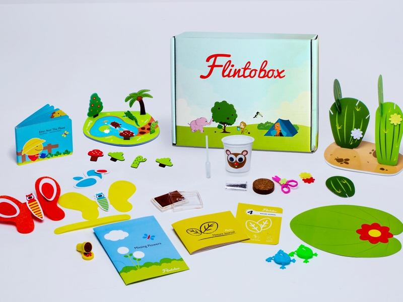 Flintobox Online Educational Subscription Activity Box