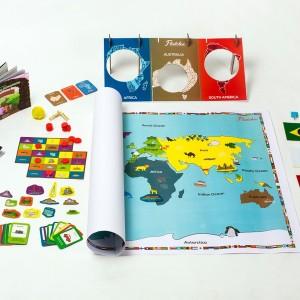 Flintobox, Educational Activity Box, Travel Maps