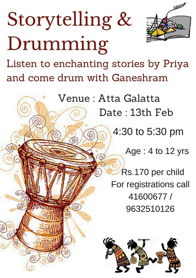 Storytelling & Drumming Session Cover Image