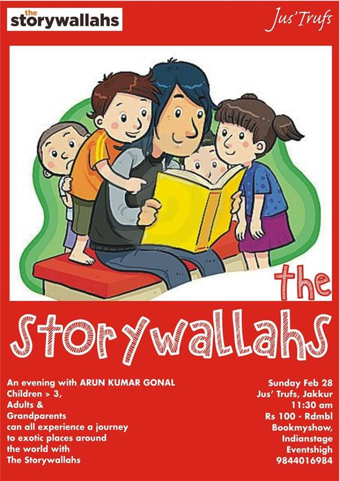 The Storywallahs Cover Image