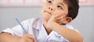 writing in preschool, child writing,