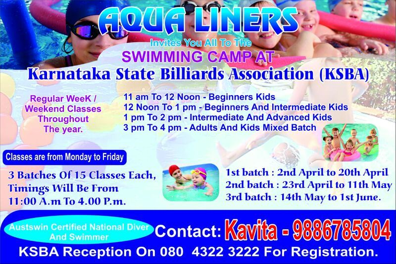 Aqua Liners Swimming Camp Cover Image