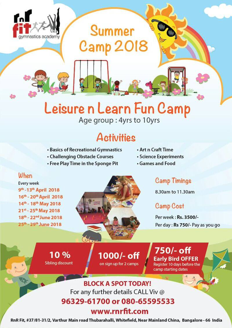 Leisure n Learn Fun Camp Cover Image