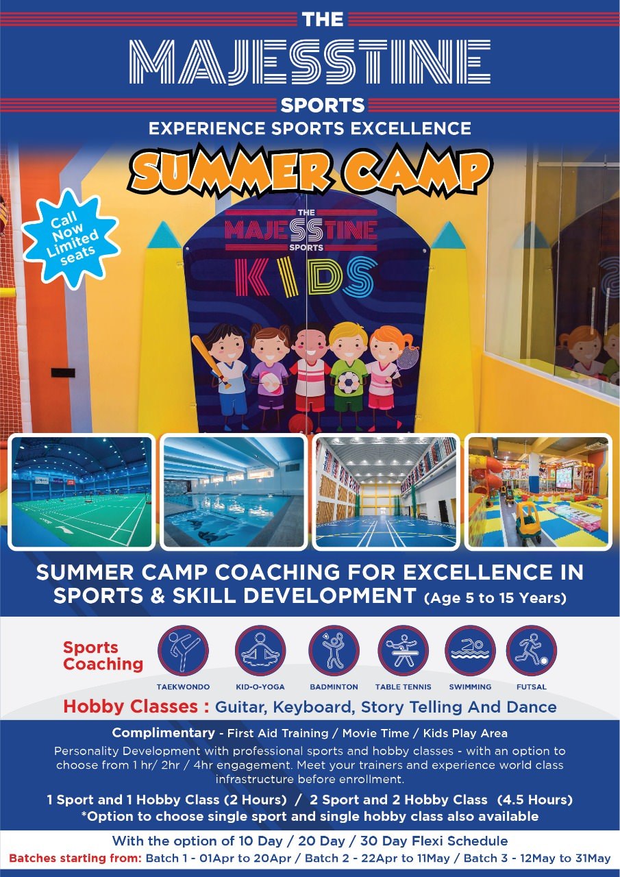 Majesstine Kids Summer Camp 2019 Cover Image