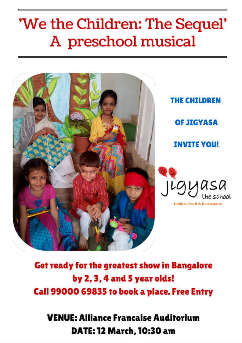 Jigyasa the School present We the Children: The Sequel Cover Image
