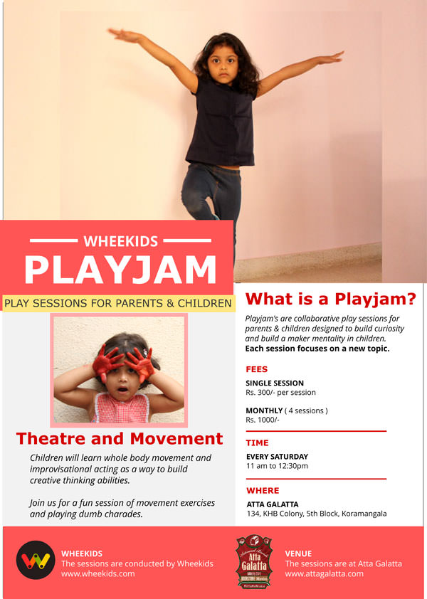 Playjam Movement In Theatre Cover Image