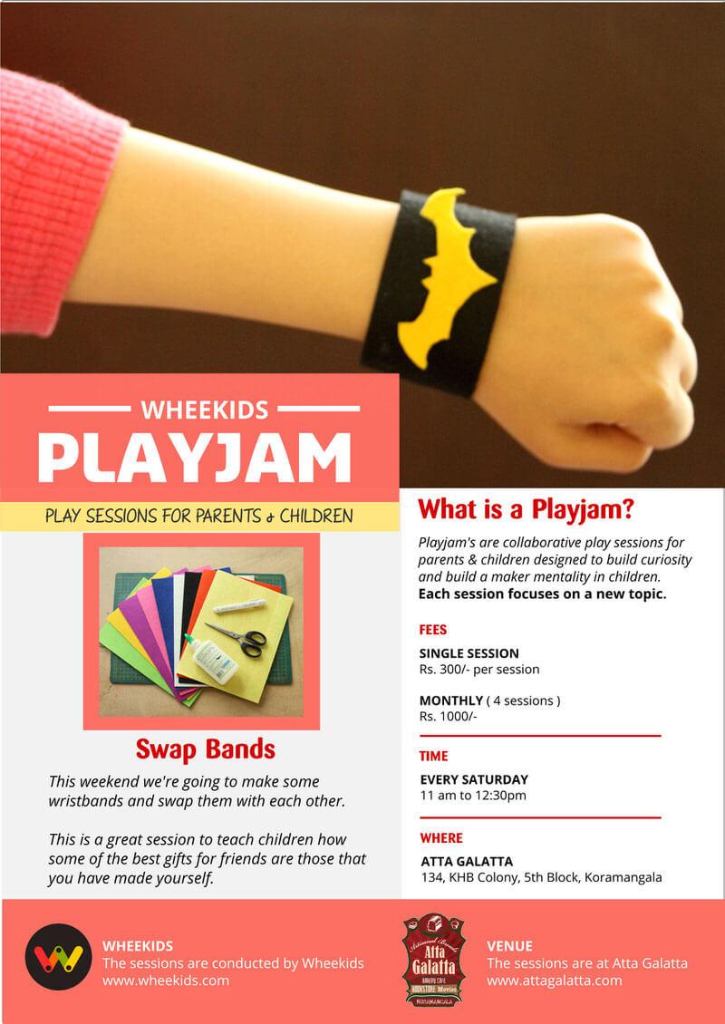 Playjam – Swap Bands Cover Image