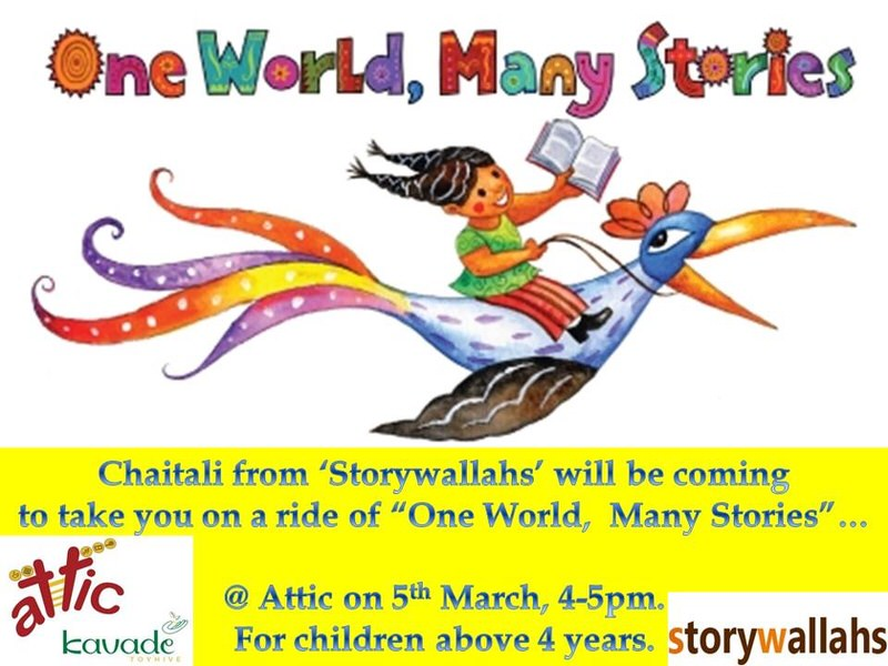 Story time with Storywallahs Cover Image