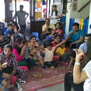 Inferalpha Children's Library Storytelling session