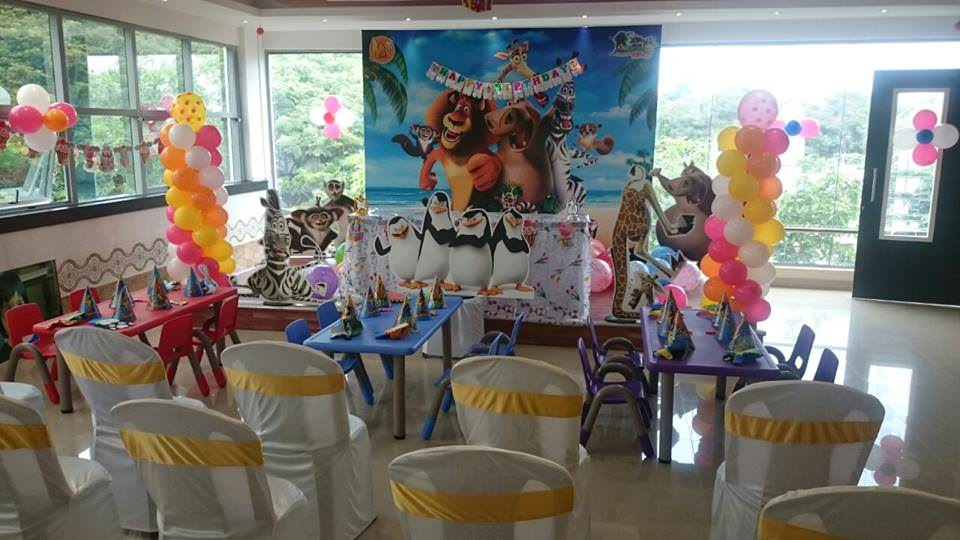 Madagascar Kids Birthday Party Venue