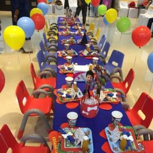Birthday Treat Table Setup