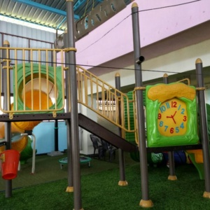 Slides for Kids at PlayGym
