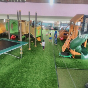 Trampoline at PlayGym