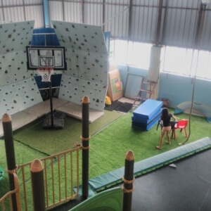 Wall Climbing at PlayGym