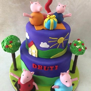 Pumpkin Baker- Spiderman theme Birthday Cake