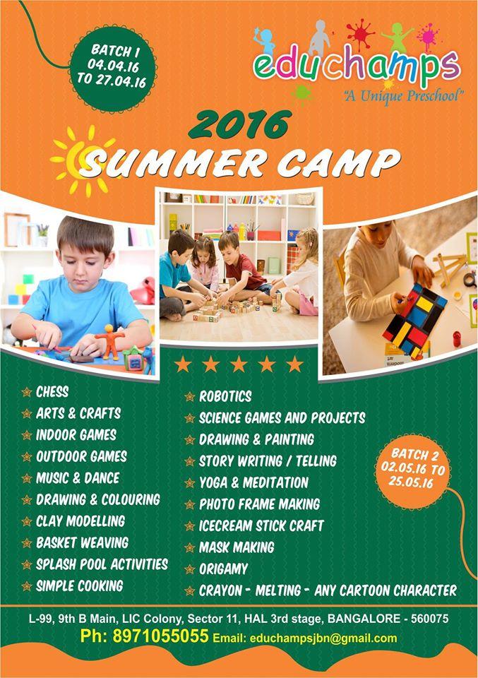 Summer Camp Art Craft Activities