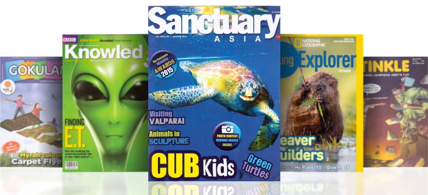 Top 20 childrens magazines to subscribe in India