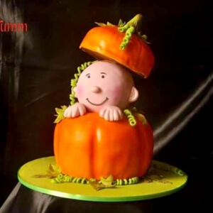 Little Pumpkin Cake