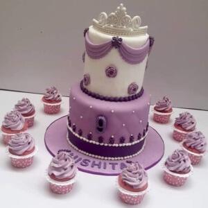 Princess Themed Cake by Itz Yumm