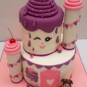 Sweet Castle Cake by Itz Yumm